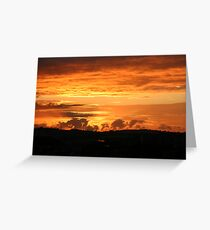 Monsters on the horizon Greeting Card