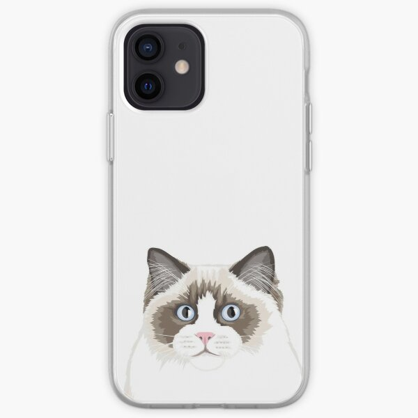Seal Bicolor Ragdoll iPhone Soft Case