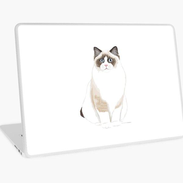 Seal Bicolor Ragdoll Laptop Skin