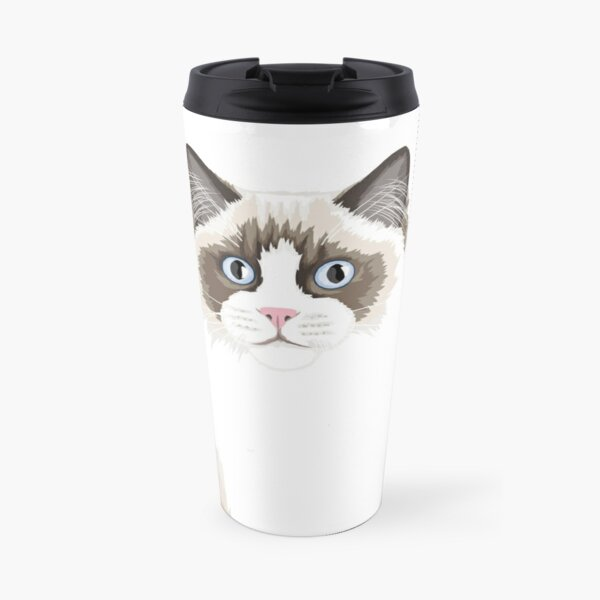 Seal Bicolor Ragdoll Travel Mug