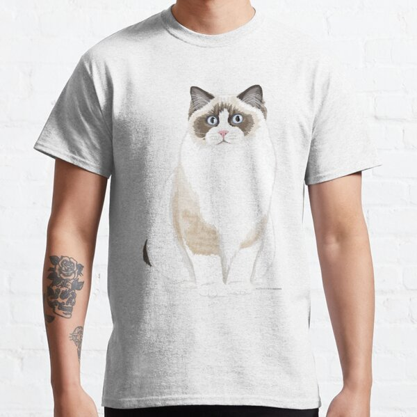 Seal Bicolor Ragdoll Classic T-Shirt