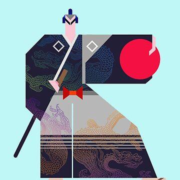 Samurai  by Illustratorial