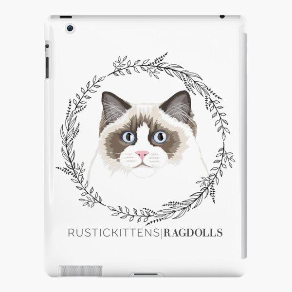 Seal Bicolor Ragdoll Wreath iPad Snap Case
