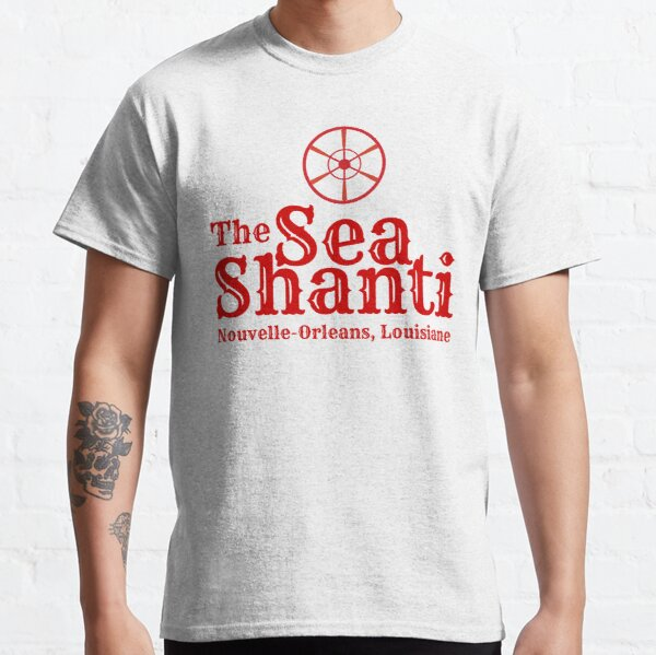 Sea Shanti Logo with Home Port Classic T-Shirt