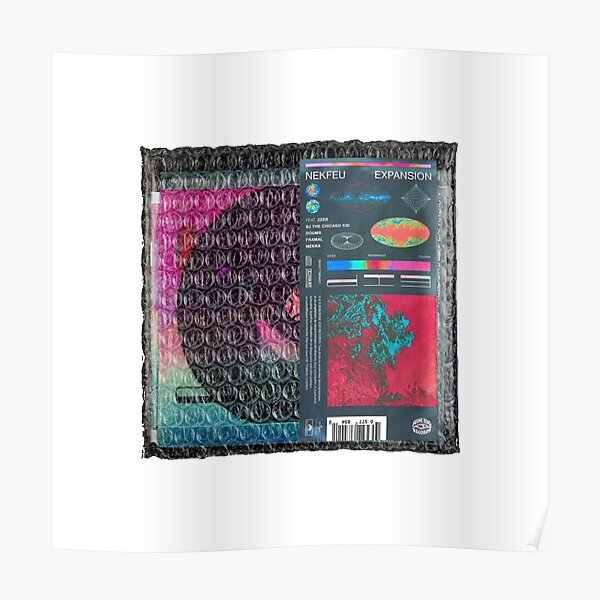 les etoiles vagabondes, nekfeu Poster