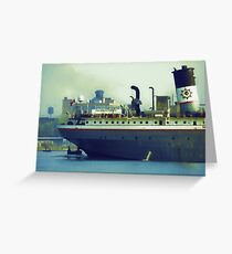 Great Lakes Freighter - Mississagi Greeting Card