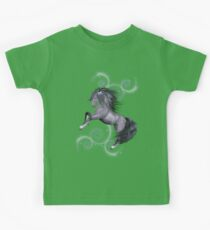The Stallion .. a wild horse Kids Tee