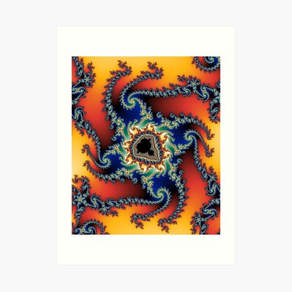 fractal #3 (mandelbrot set) Art Print