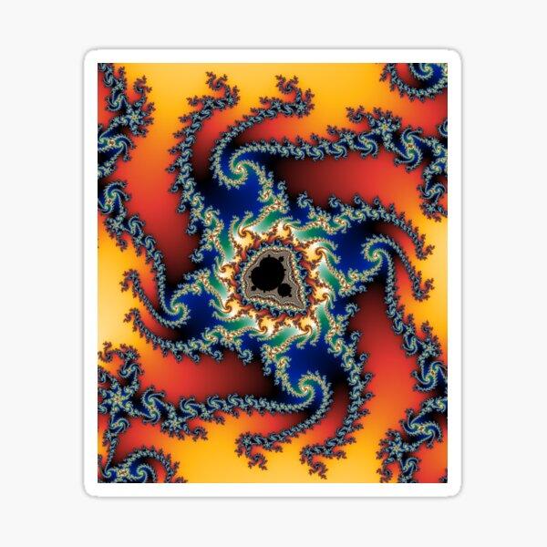 fractal #3 (mandelbrot set) Sticker