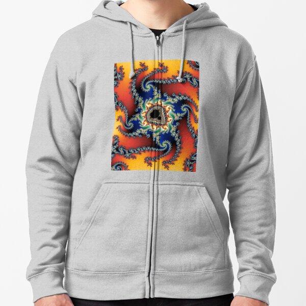 fractal #3 (mandelbrot set) Zipped Hoodie