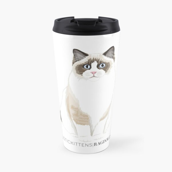 Rustic Kittens Ragdolls Travel Mug