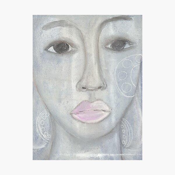 Pastel Portrait - S16 Photographic Print