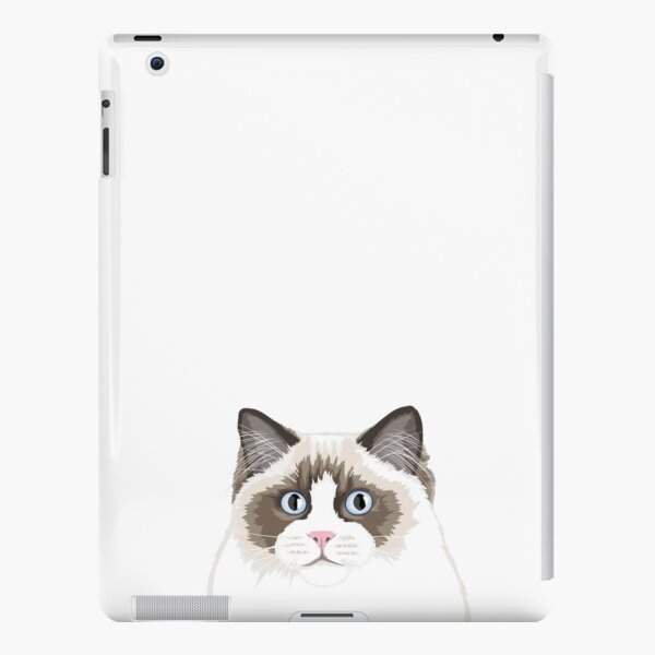 Seal Bicolor Ragdoll iPad Snap Case
