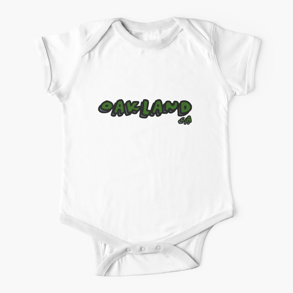 Funny Baby T-Shirt Toddler Tee California, CA Made in Oakland