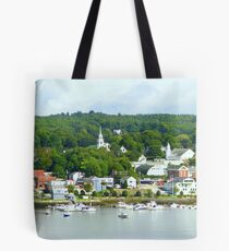 Typical New England Town Tote Bag