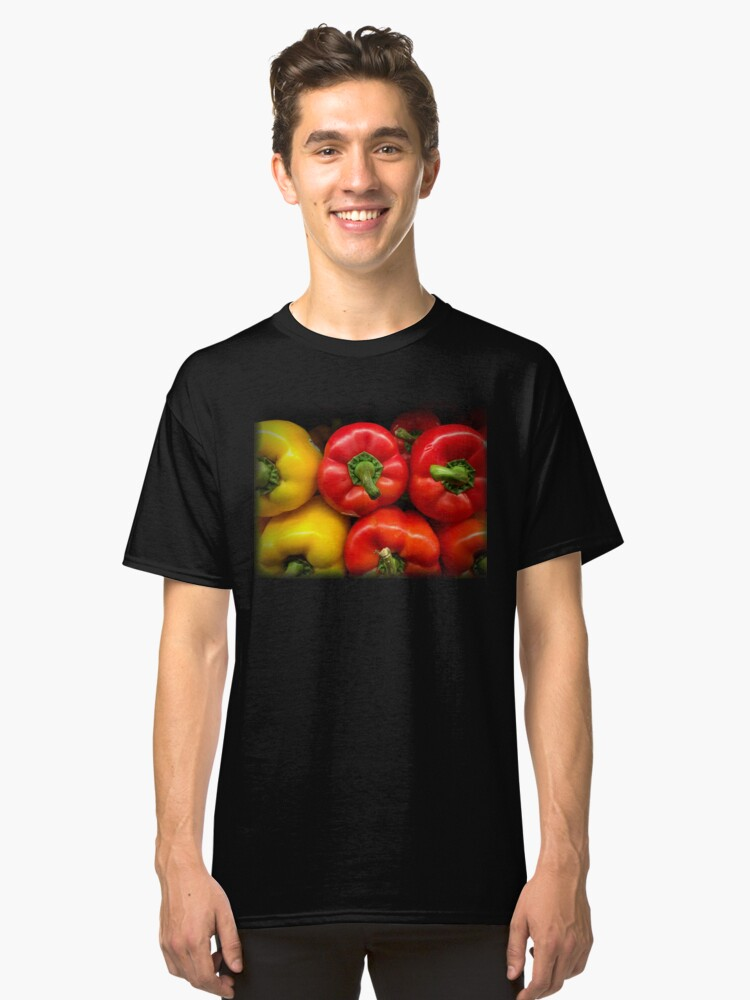 Alternate view of Garden Bounty - Peppers Classic T-Shirt