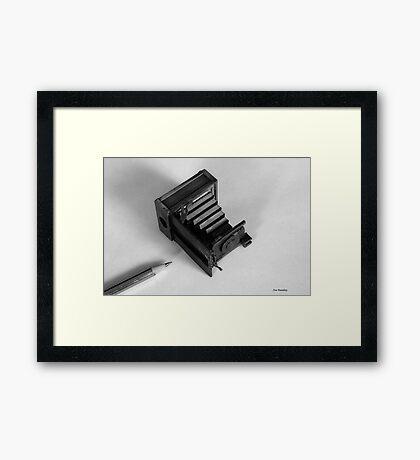Words & Pictures Framed Print