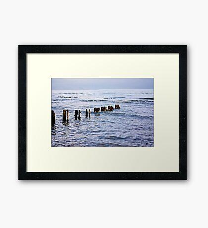 Sandsend Seascape Framed Print