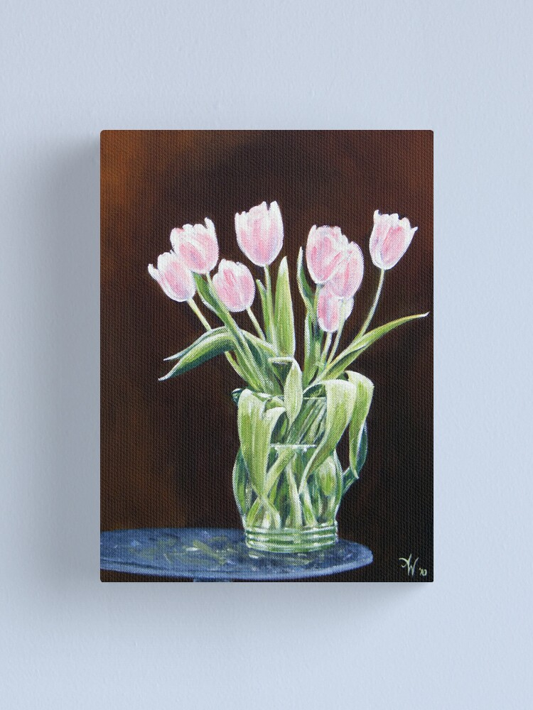 Alternate view of A Bunch of Love Canvas Print