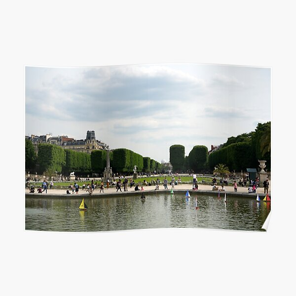 Luxembourg Gardens 14 Poster