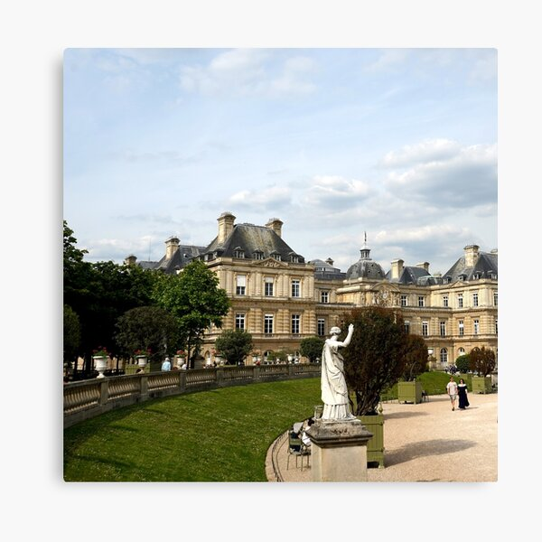 Luxembourg Gardens 13 Canvas Print