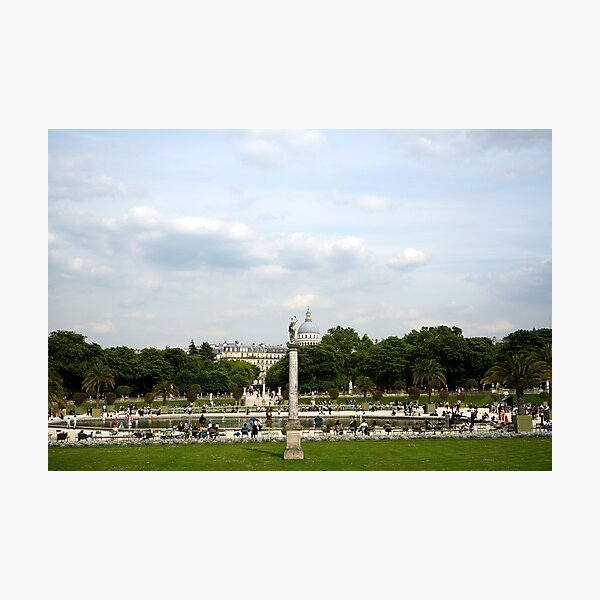Luxembourg Gardens 12 Photographic Print