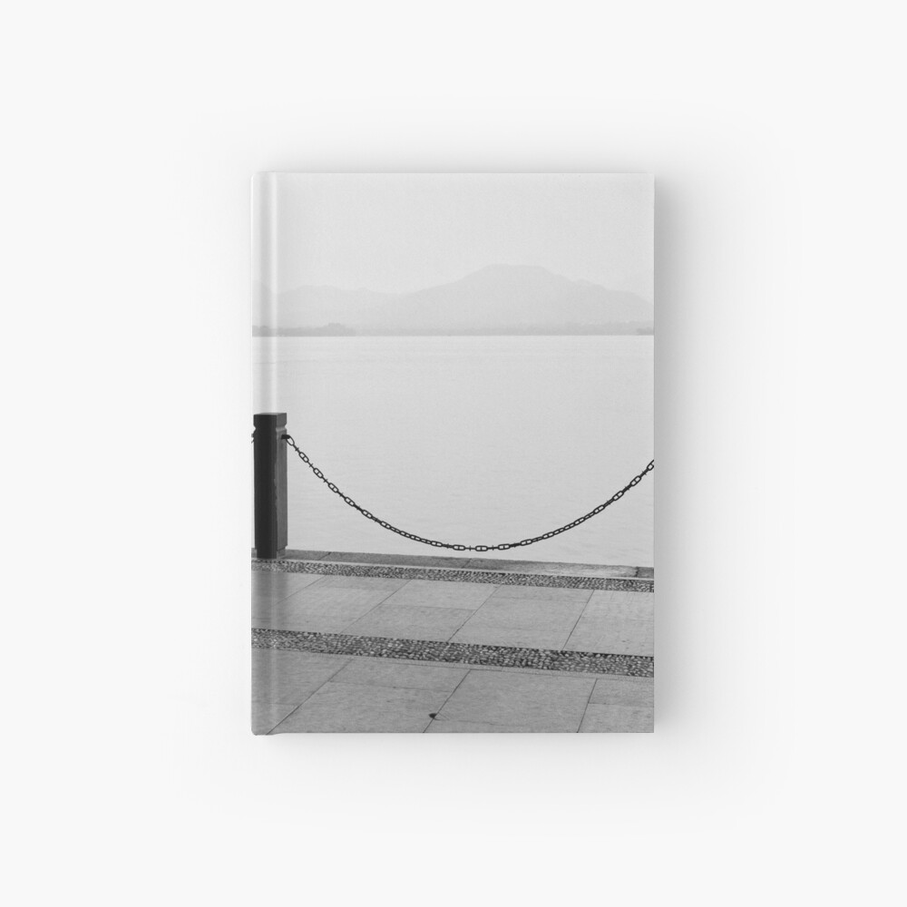 Tai Chi by the lake - Hangzhou, China Hardcover Journal