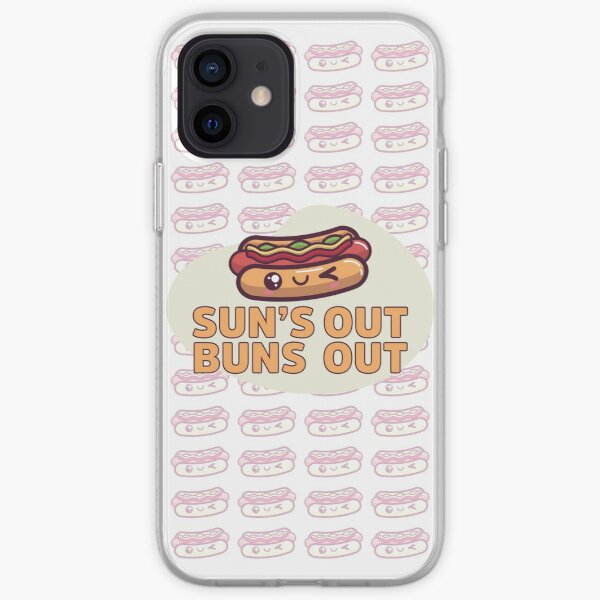 Sun's Out Buns Out: Hotdogs iPhone Soft Case