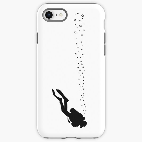 Scuba Diver  iPhone Tough Case