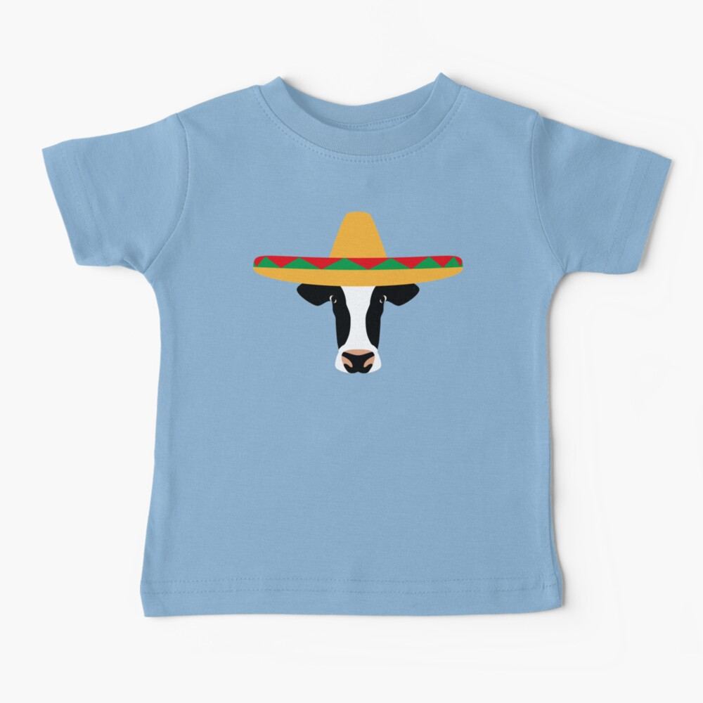 NDVH Cow Wearing a Sombrero Baby T-Shirt