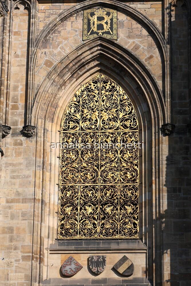 The gold window by annalisa bianchetti