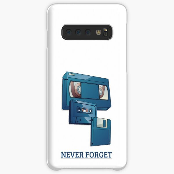 Never Forget: VHS, Cassette Tape, and Floppy Disk Samsung Galaxy Snap Case
