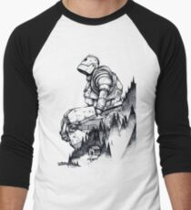 Iron Giant Men's Baseball ¾ T-Shirt