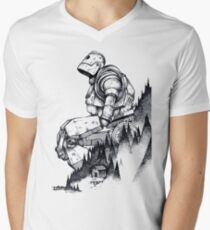 Iron Giant Men's V-Neck T-Shirt
