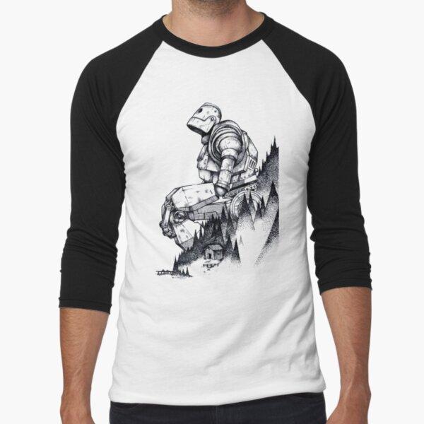 Iron Giant Baseball ¾ Sleeve T-Shirt