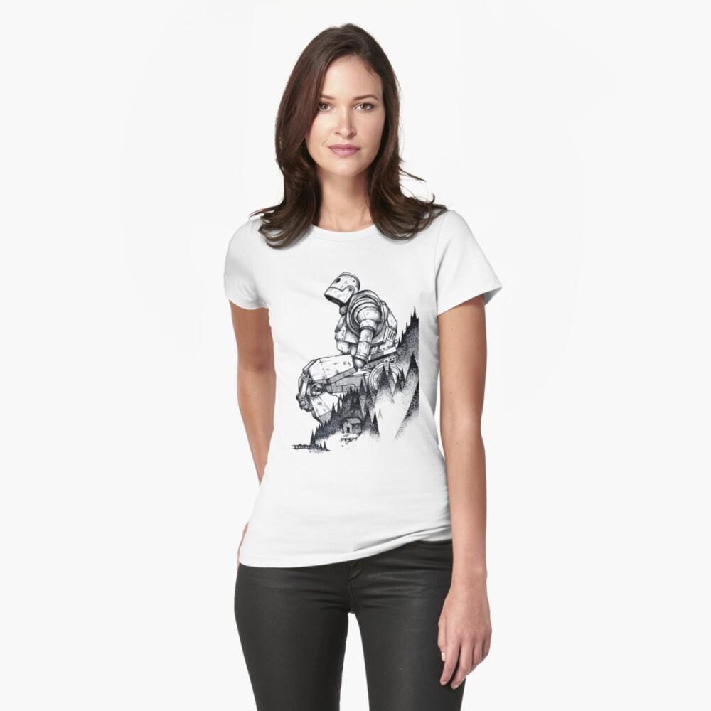 Camiseta para mujerGigante de hierro Delante