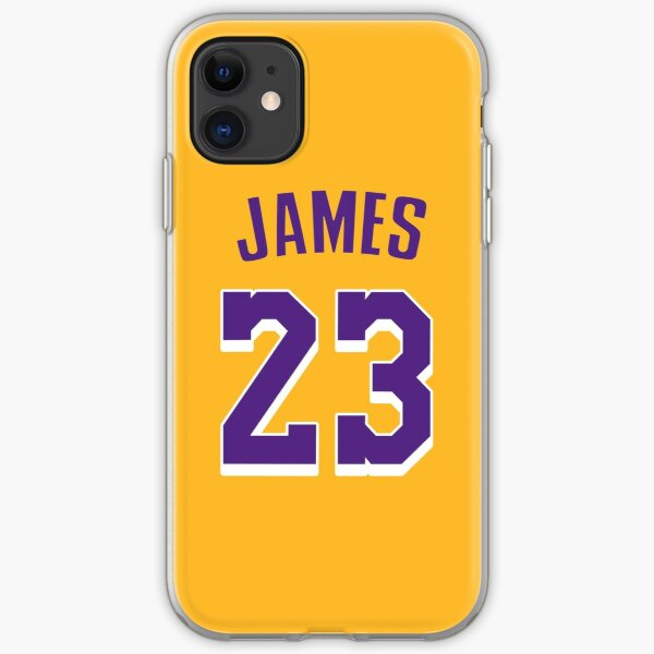 LeBron James Lakers iPhone Flexible Hülle