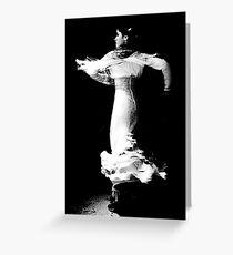 Flamenco Spin Greeting Card