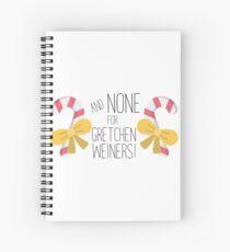 Cuaderno de espiral ¡Ninguno para Gretchen Wieners!
