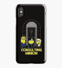 The Worlds only Consulting Minion iPhone Case