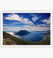 Ionian panorama from Xiromero Sticker