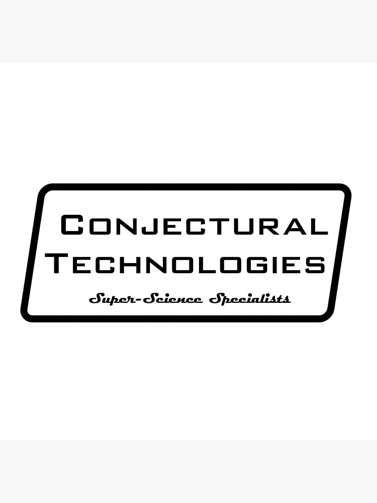 Conjectural Technologies (black) by rcrowe