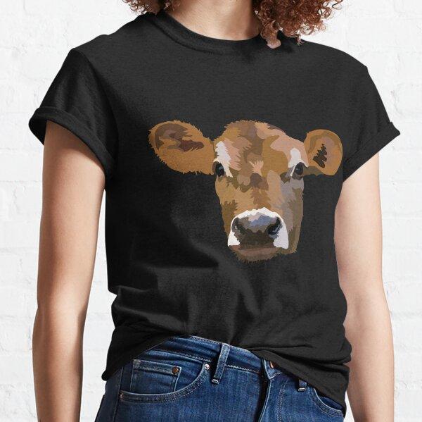 Little Jersey Cow, Cute Little Calf Classic T-Shirt