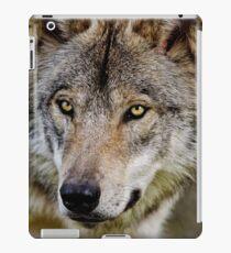 Timberwolf Portrait  iPad Case/Skin