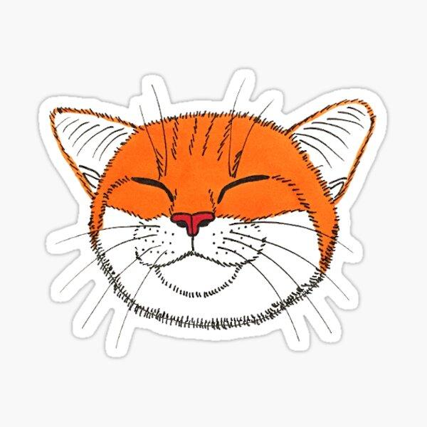 Nick the Happy Cat Sticker