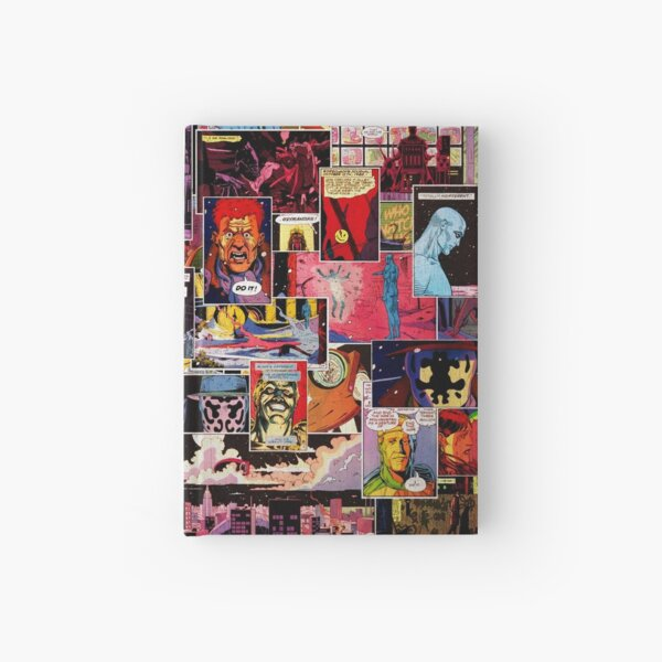 Watchmen Panel Collage Hardcover Journal