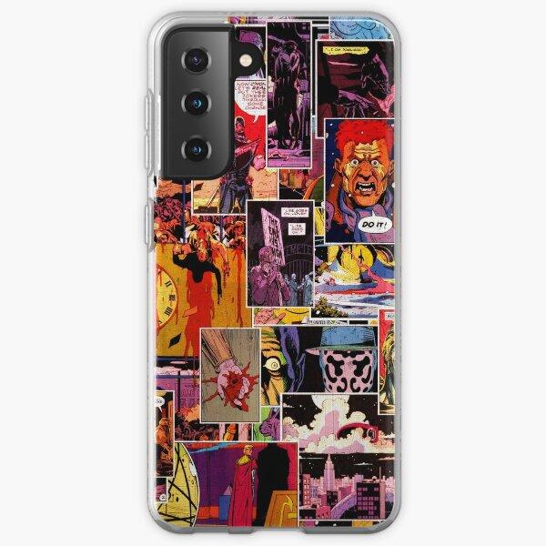 Watchmen Panel Collage Samsung Galaxy Soft Case