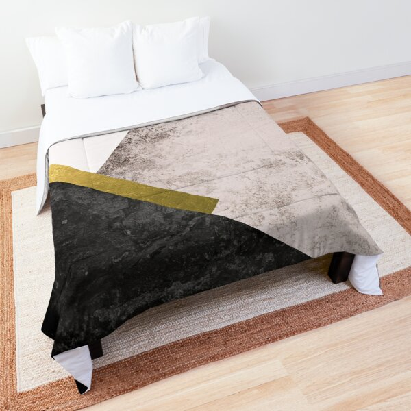 Geometric Minimalism Comforter