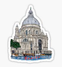 Santa Maria della Salute,Venice Sticker