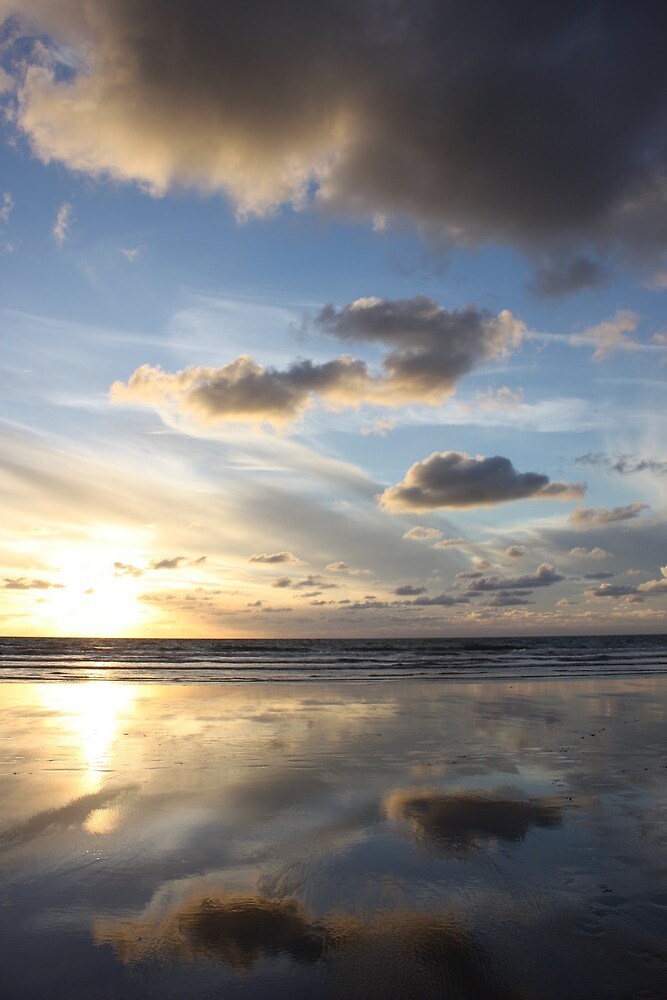 Widemouth Bay, Bude by lhyland